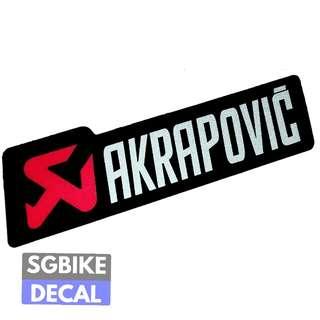 Akrapovic Reflective d3cal