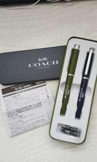 Coach 墨水筆(双枝套裝)~日本版