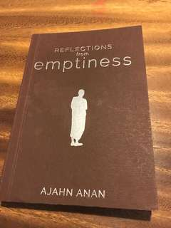 BN Ajahn anan reflections on emptiness: short sayings and similes book