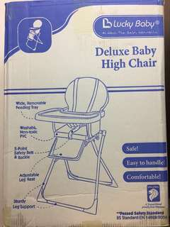 LUCKY BABY - baby high chair for feeding