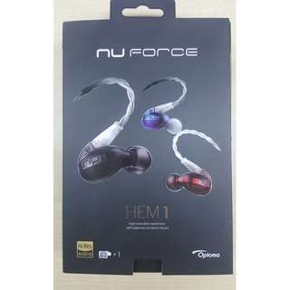 Optoma nuForce HEM1 - Black
