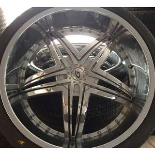 JAPAN Rim 26 Inch for Land Cruiser 200 Series