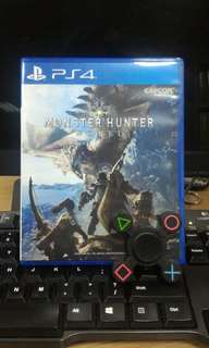 [PS 4] Monster Hunter World