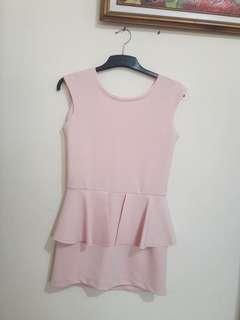 Softpink Mini Dress