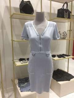 New Morgan Baby Blue Dress