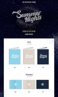 """TWICE 2ND SPECIAL ALBUM """"SUMMER NIGHTS"""" {TAKING PREORDERS}"""