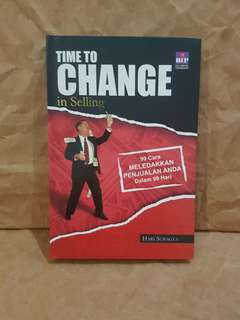 Time To Change in Selling