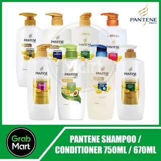 PANTENE PRO-V SHAMPOO 750ML / CONDITIONER 670ML