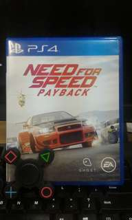 [PS 4] Need For Speed Payback
