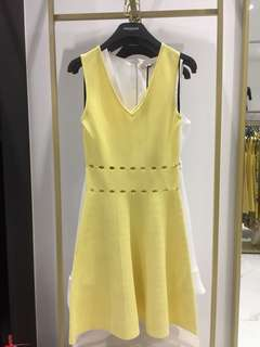 New Morgan Yellow Dress