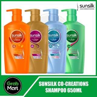 SUNSILK CO-CREATIONS SHAMPOO 650ML