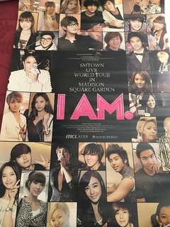 SMTown - I Am poster
