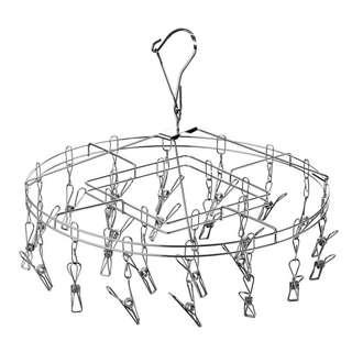 Stainless steel hanger 20clips