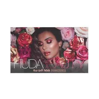 *New* HUDA BEAUTY - Rose Gold Remastered Palette