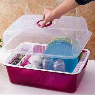 Kitchen storage box kotak peniris alat dapur
