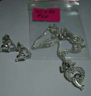 Set Silver Jewelries