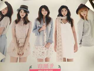 4minute - Volume Up poster