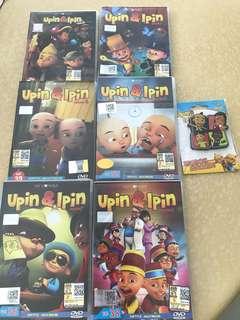🚚 Upin & Ipin DVDs