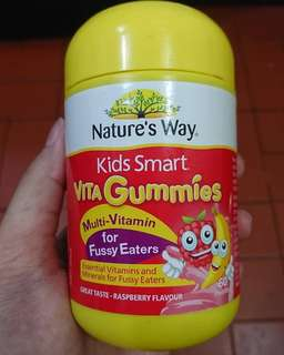 Nature's Way Vita Gummies Multi-Vitamin for Fussy Eaters