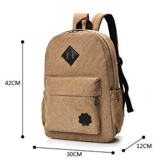tas laptop punggung/ransel gendong/sekolah/kerja CDL 004 - Hitam