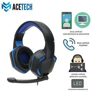 ACETECH handphone gaming headset and microphone