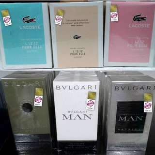 Authentic Perfumes from dutyfree