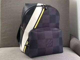 LV Damier Graphite Backpack