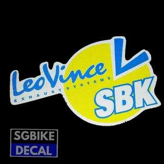 LeoVince SBK Reflective