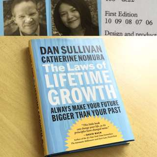 Book - The Laws of Lifetime Growth