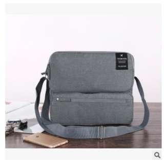 Korean Grand Voyaging Bag Ver 2 / Travel Organizer / Tas Selempang - Abu-abu Muda