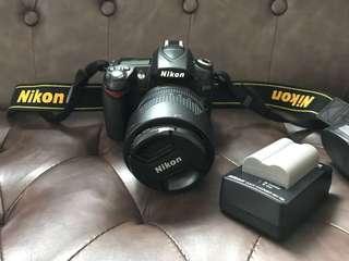 Nikon D90 with AF 18-105mm VR lens