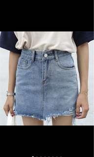 🚚 韓版高腰顯瘦窄裙