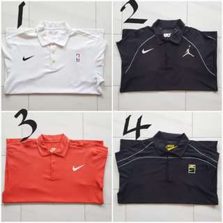 Nike Polo Shirts Authentic