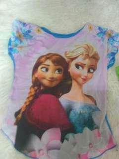 baju anak frozen  6 tahun