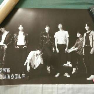 BTS Love Yourself : Tear Official Poster O version