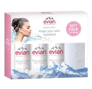 Evian Spray Women 50ml (paket)