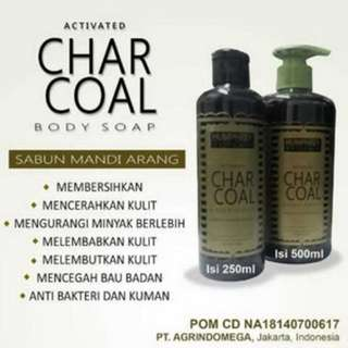 HUMPREY CHARCOAL BODY SOAP