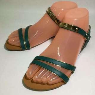 Korean Elegant Green Sandals size 35 to 40