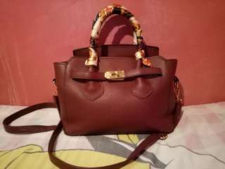 Maroon Hand/Sling Bag (PRELOVED)
