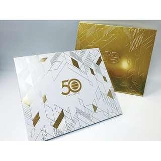 TVB無線電視 50週年 金禧紀念郵票冊 限量員工版