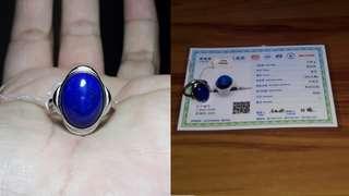 Lapis Lazuli Adjustable Ring