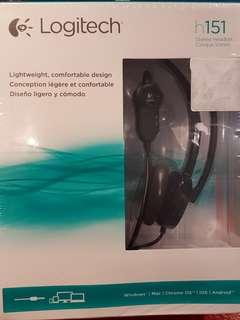 2x BNIB Logitech h151 Stereo Headset
