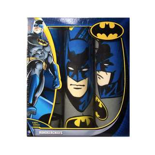 Batman Handkerchief Set of 3