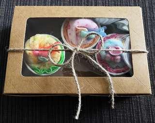 Baby Girl Gift Set (Cupcake Design)
