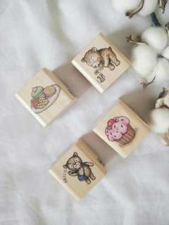 Wooden stamp from Micia