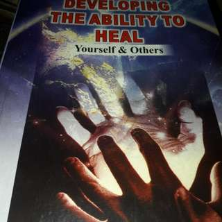 Developing the Ability to heal