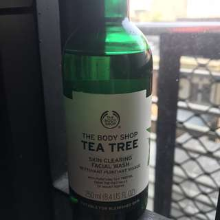 Tea Tree Facial Wash