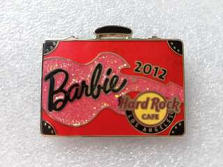 Hard Rock Cafe Pins ~ LOS ANGELES HOT 2012 BARBIE CONVENTION PIN!