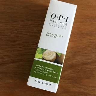 Opi cuticle oil to go 7.5ml pro spa