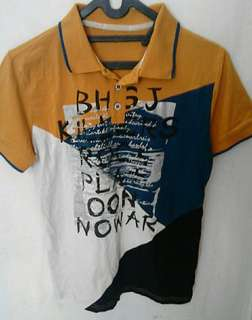 BHSJ Polo Shirt Preloved Ukuran fit to L